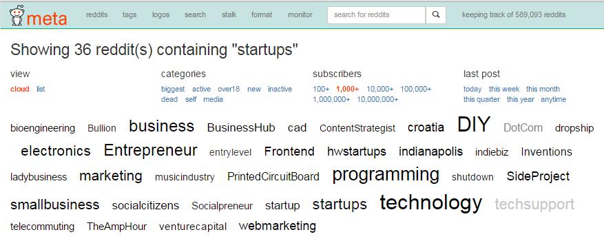metareddit-subreddits-search-results