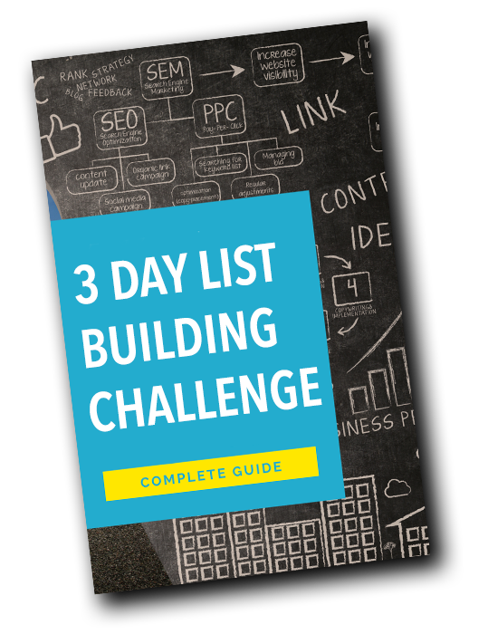 3 Day List Building Challenge