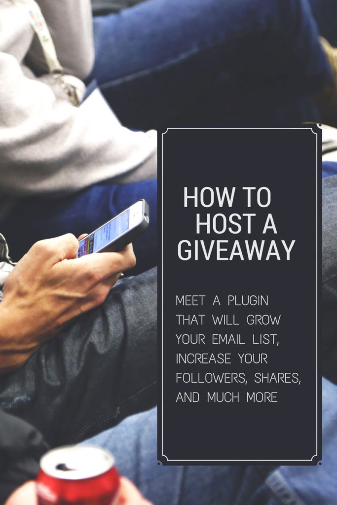 How to host a giveaway with Kingsumo