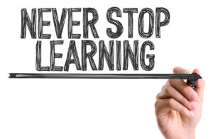 never stop learning in home business academy