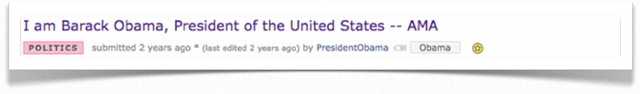 barack obama reddit ama