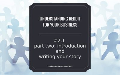 The Introduction and Writing Your Story