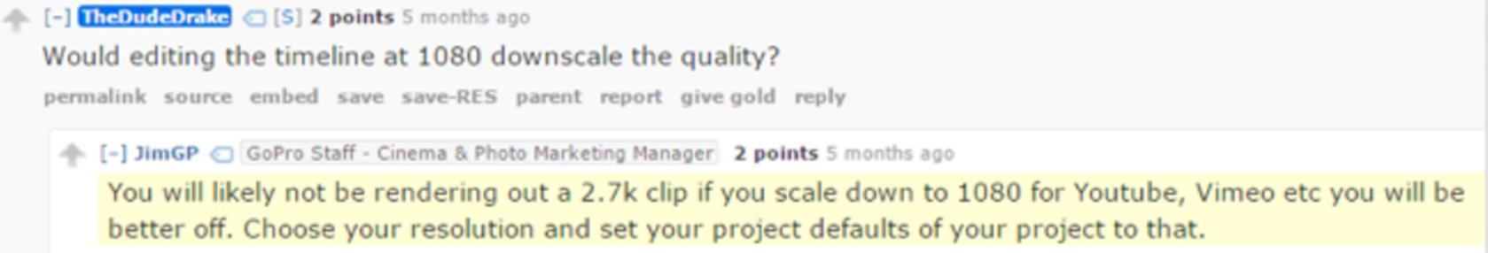 Reddit question post