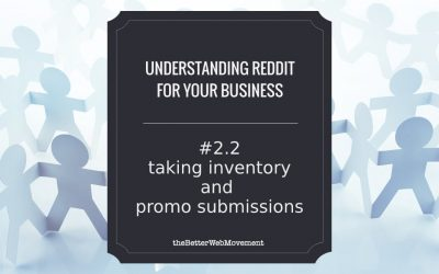 Taking Inventory and Promo Submissions (Get Noticed for the Right Reasons)
