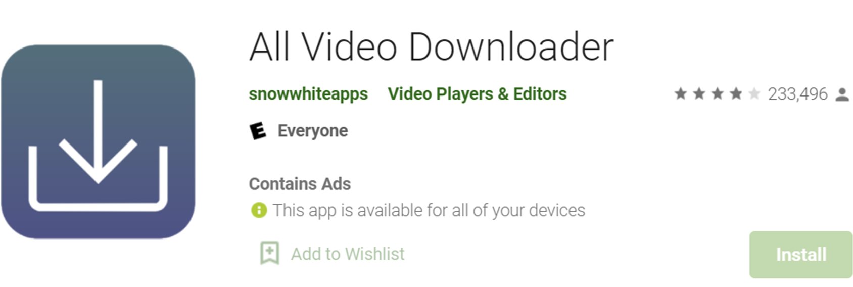 All Video Downloader on app store
