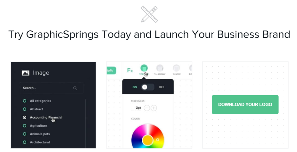 GraphicSprings features