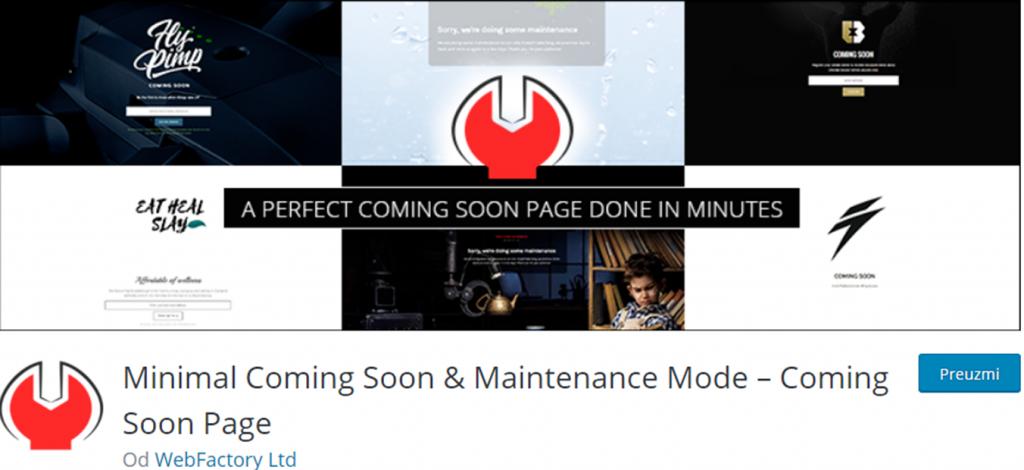 Minimal Coming Soon banner