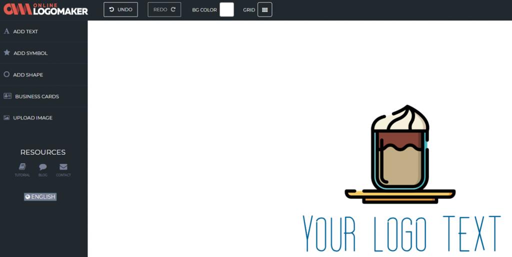 Online Logo Maker editor
