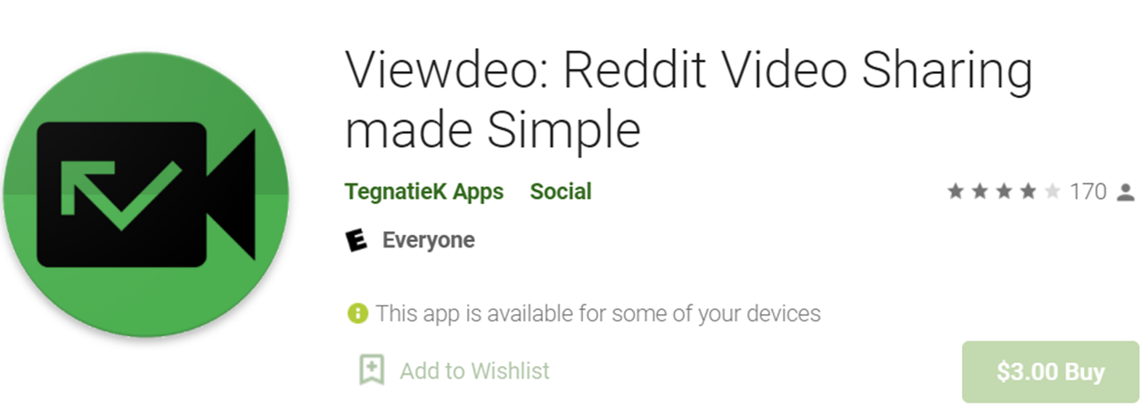 Viewdeo icon and name