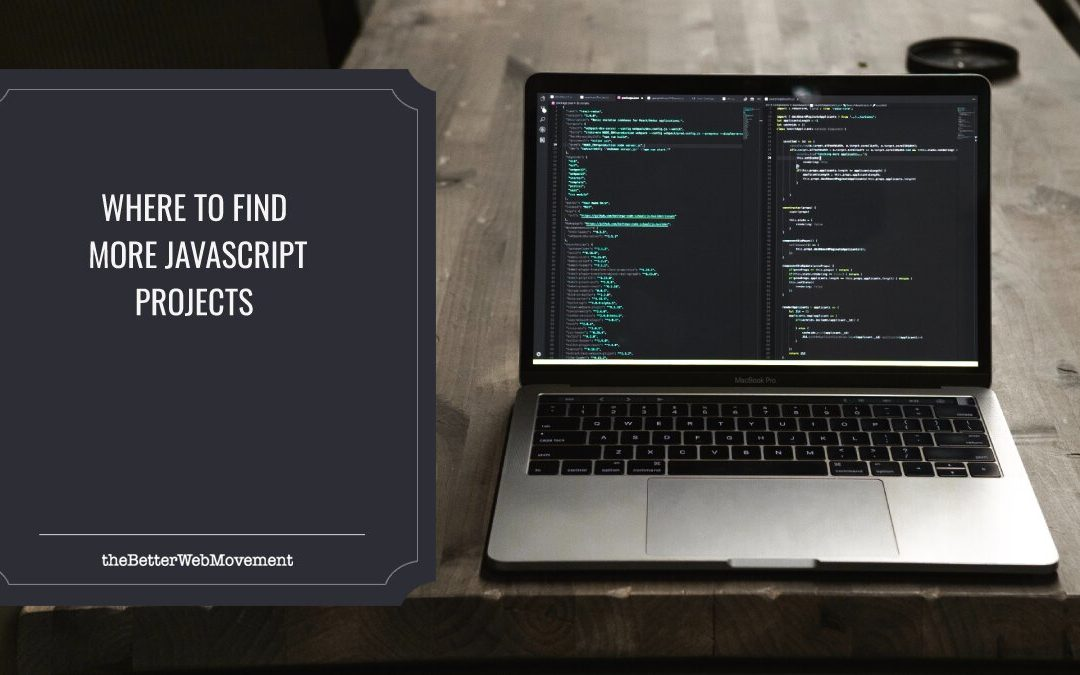Where to Find More JavaScript Projects