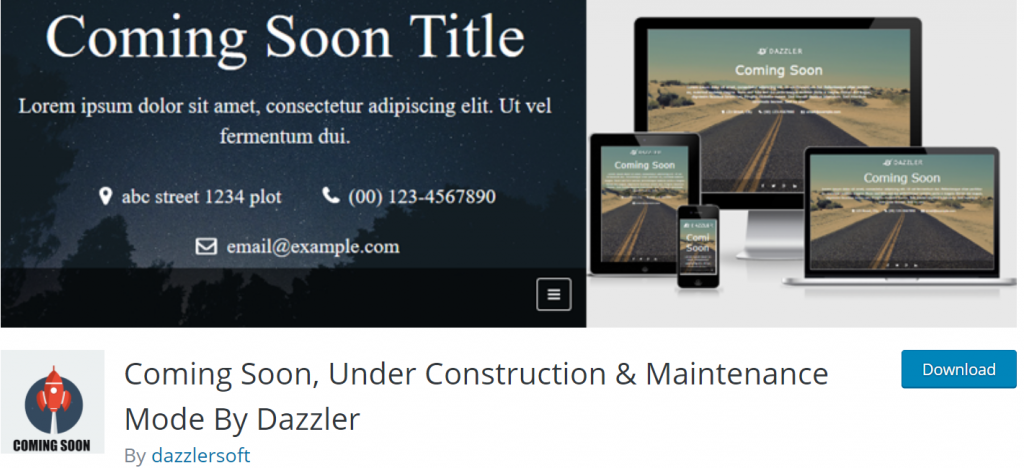 Comin Soon by Dazzler banner