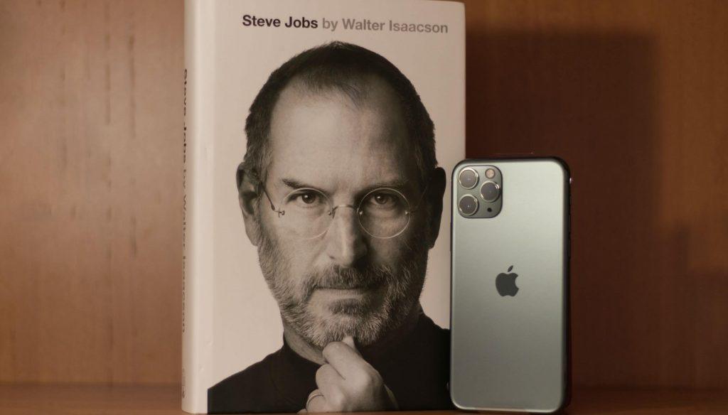Image of Steve Jobs bio