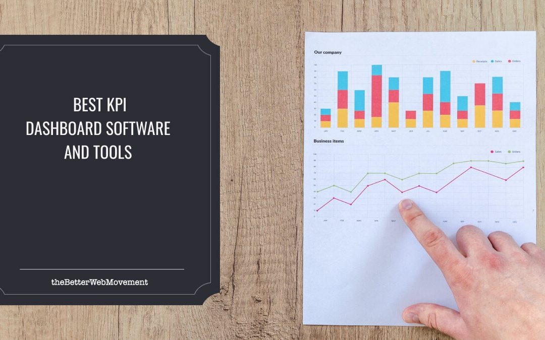 Best KPI Dashboard Software & Tools to Gain Valuable Insight Into Your Business' Performance