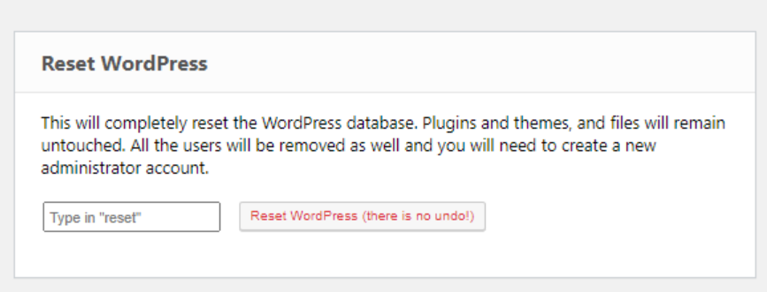 ERS WordPress
