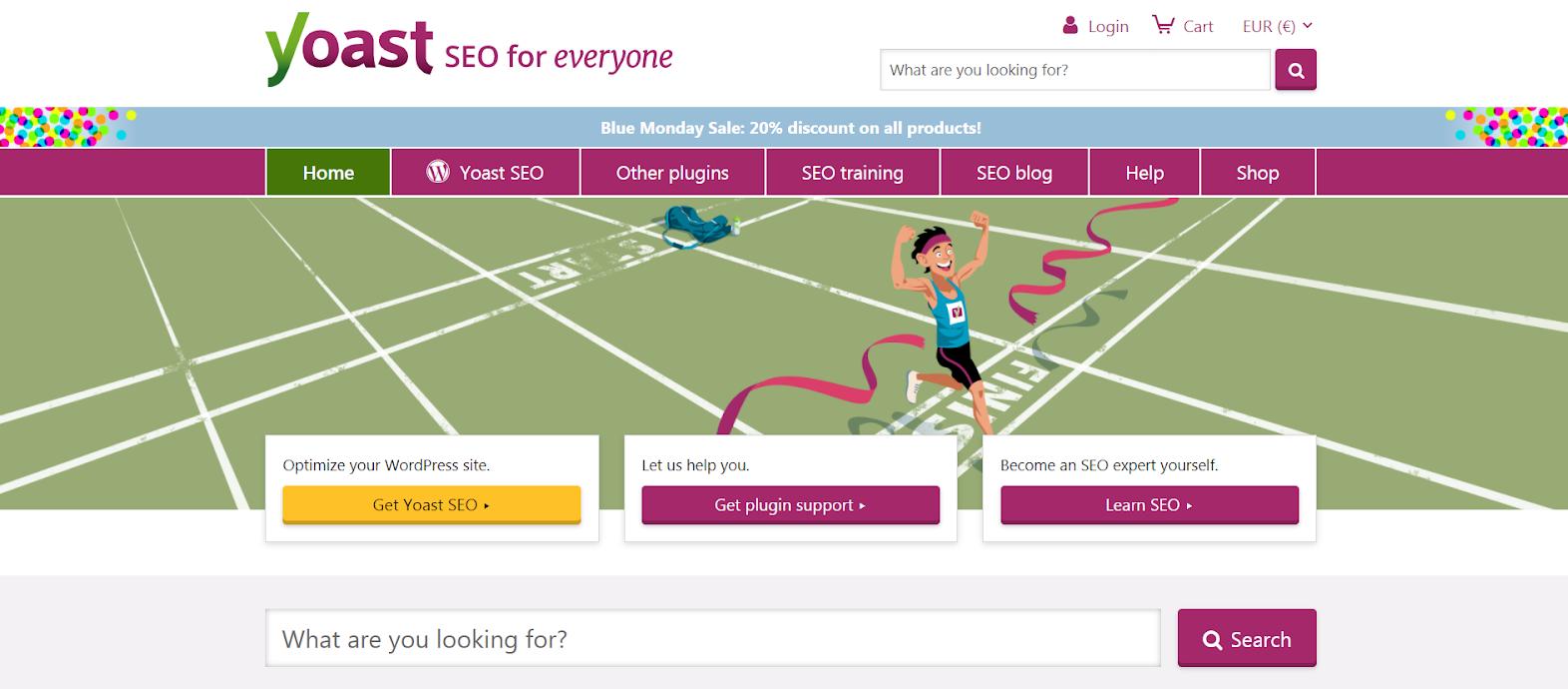 Yoast SEO website