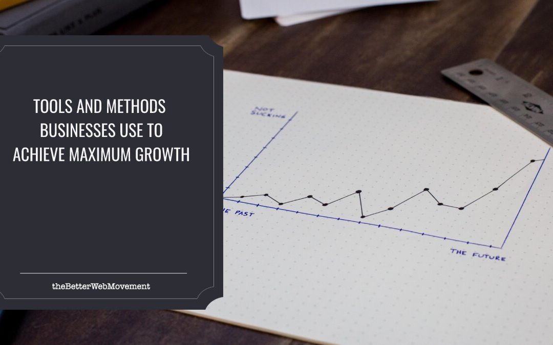 Tools And Methods Businesses Use To Achieve Maximum Growth