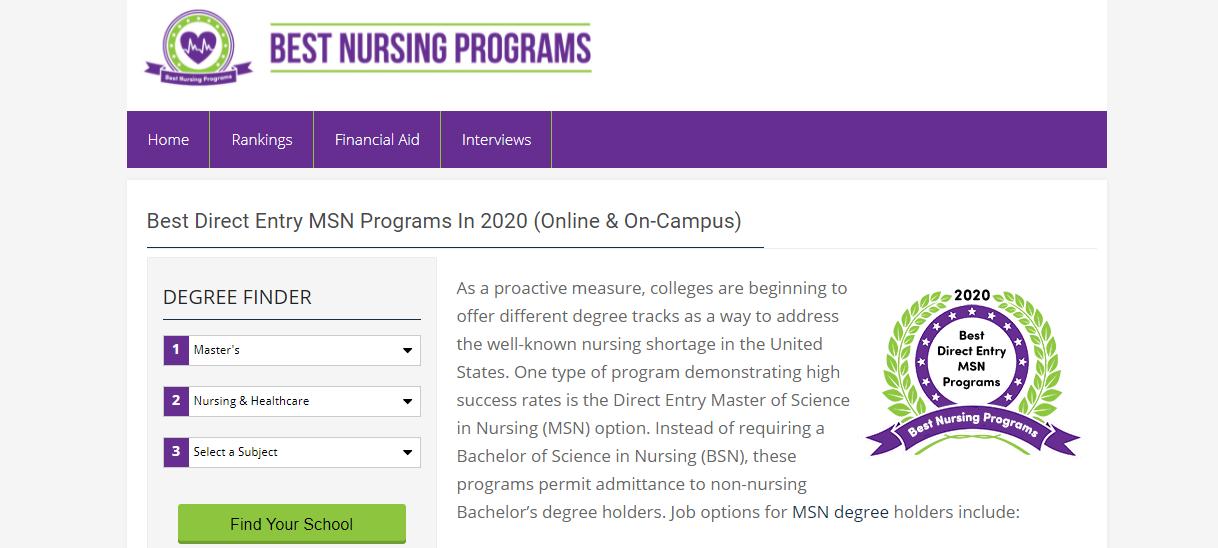 Best nursing program