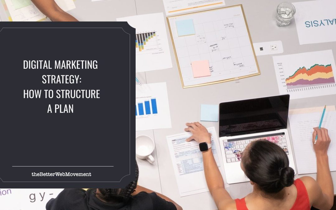 Digital Marketing Strategy: How to Structure a Plan?